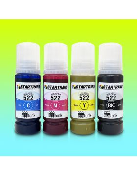 Sublimax Ink 522 Pack 4 Colors 65 ml