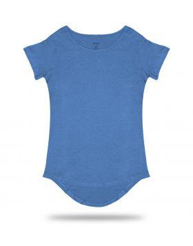 Light Blue Long Tee T-Shirt 50/50