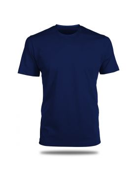 Round Neck T-Shirt-Navy