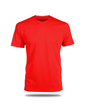 Round Neck T-Shirt-Red