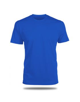 Round Neck T-Shirt-Royal Blue