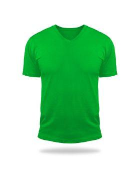 Tshirt V Neck Magic-Green