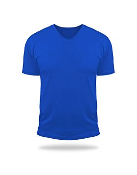 Tshirt V Neck Magic-Royal Blue