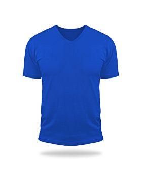 Tshirt V Neck Magic-Royal Blue