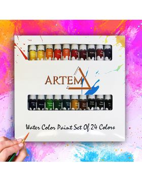 Water Color Paint Set Of 24 Colors