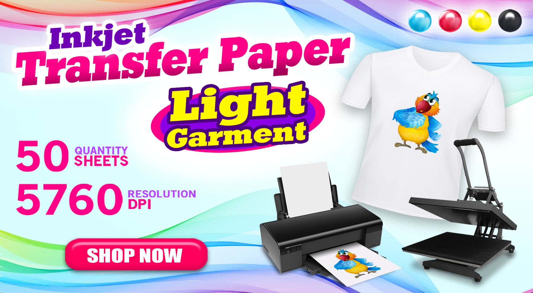 Inkjet Transfer Paper Light